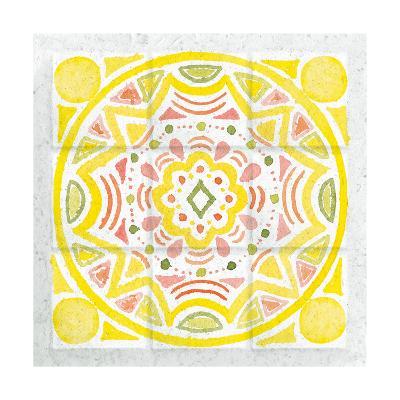 Citrus Tile II-Elyse DeNeige-Art Print