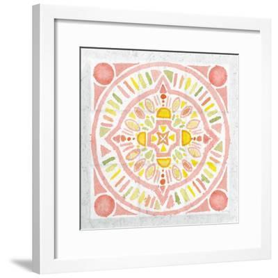 Citrus Tile IV v2-Elyse DeNeige-Framed Art Print