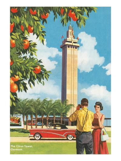Citrus Tower, Clermont, Florida--Art Print