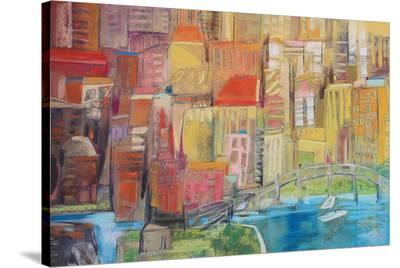 City 11--Stretched Canvas Print