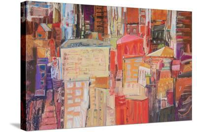 City 12--Stretched Canvas Print