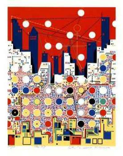 City 369- Kimura-Collectable Print