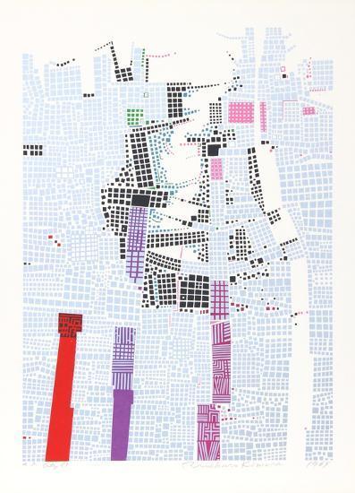City 85-Risaburo Kimura-Limited Edition