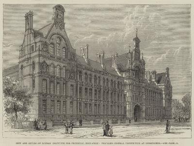 City and Guilds of London Institute for Technical Education--Giclee Print