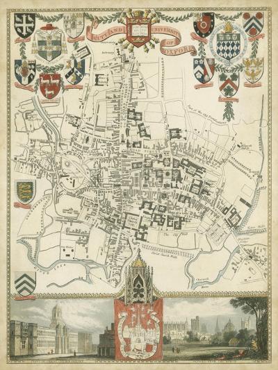 City and University of Oxford--Art Print