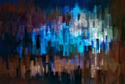 City at Night 3-Ursula Abresch-Photographic Print