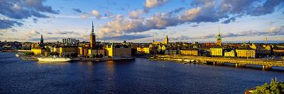City at the Waterfront, Gamla Stan, Stockholm, Sweden--Photographic Print