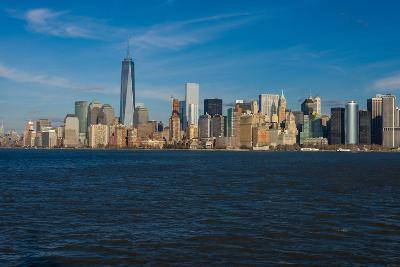 City at the waterfront, Manhattan, New York City, New York State, USA--Photographic Print
