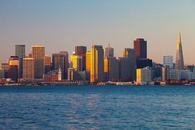 City at the Waterfront, San Francisco, California, Usa 2013--Photographic Print