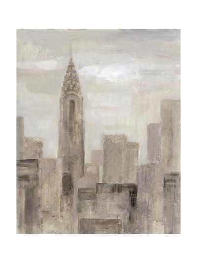 City Blocks I Greige-Silvia Vassileva-Art Print