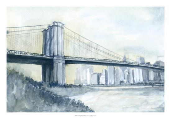 City Bridge I-Megan Meagher-Giclee Print