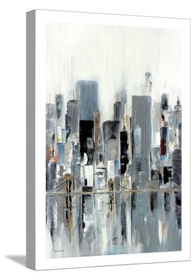 City Bridge-Aziz Kadmiri-Stretched Canvas Print
