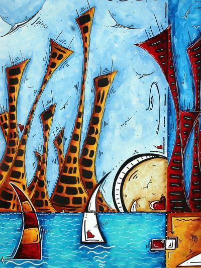 City By The Bay-Megan Aroon Duncanson-Art Print