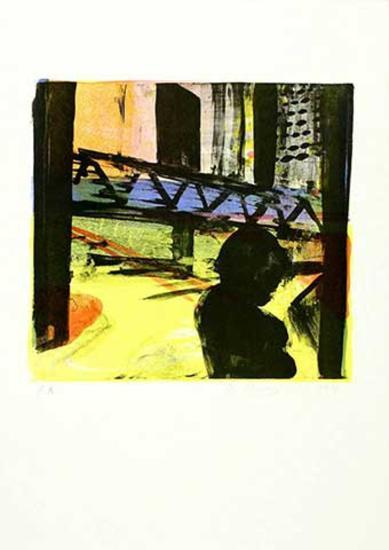 City, c.1998-Reinhard Stangl-Limited Edition