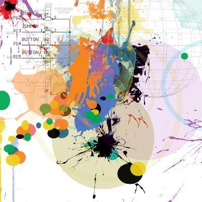 City Center 1-Jan Weiss-Art Print