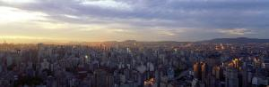 City Center, Buildings, City Scene, Sao Paulo, Brazil