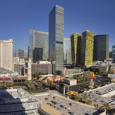 City Center Place, Veer Towers, Aria Resort, Strip, South Las Vegas Boulevard-Rainer Mirau-Photographic Print