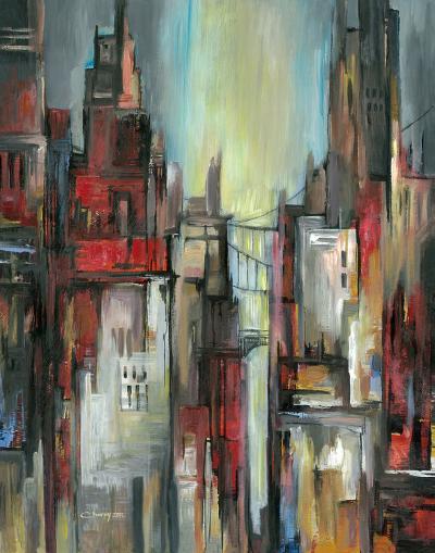 City Colours II--Art Print