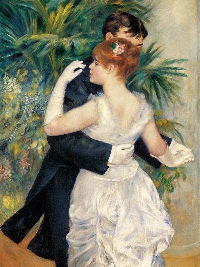 City Dance-Pierre-Auguste Renoir-Giclee Print