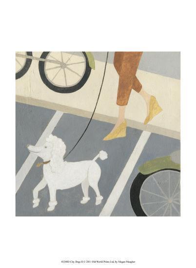 City Dogs II-Megan Meagher-Art Print