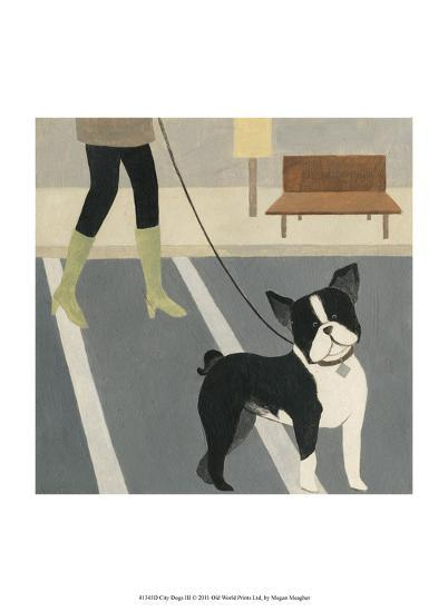 City Dogs III-Megan Meagher-Art Print