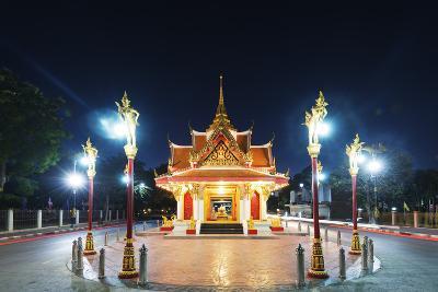 City Gate, Kanchanaburi, Thailand, Southeast Asia, Asia-Christian Kober-Photographic Print