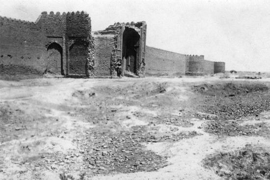 City Gate, Samarra, Mesopotamia, 1918--Giclee Print