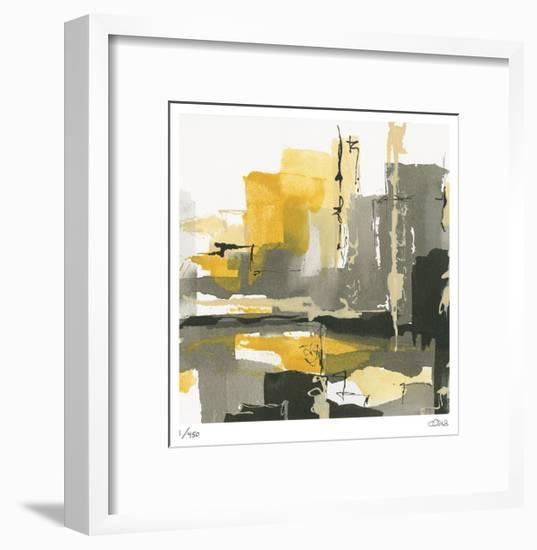 City Grey I-Chris Paschke-Framed Limited Edition