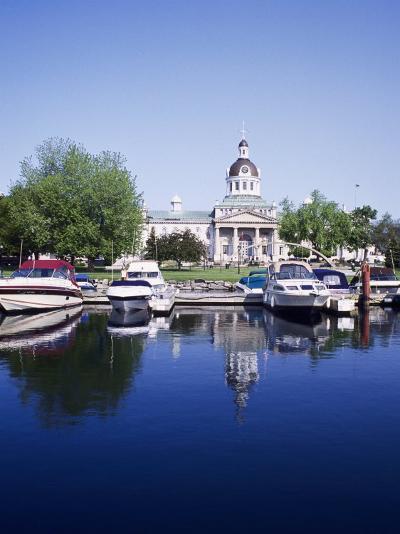City Hall and Marina, Kingston Ontario, Canada-Mark Gibson-Photographic Print