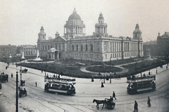 'City Hall, Belfast', 1917-Unknown-Photographic Print