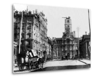 City Hall Construction, Philadelphia, Pennsylvania