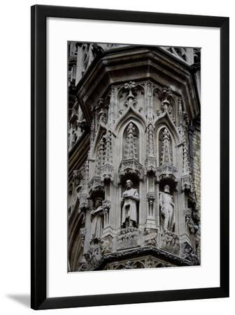 City Hall in Brabantine Gothic Style, 1448-1469--Framed Giclee Print