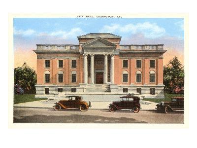 City Hall, Lexington, Kentucky--Art Print