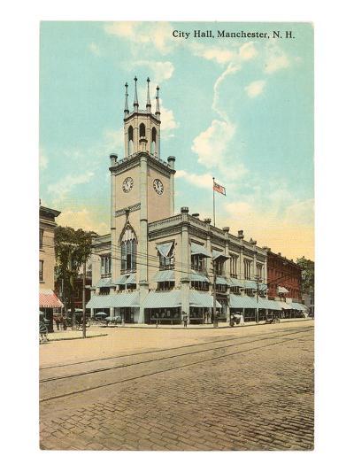 City Hall, Manchester, New Hampshire--Art Print