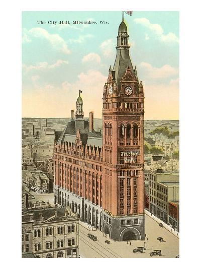 City Hall, Milwaukee, Wisconsin--Art Print