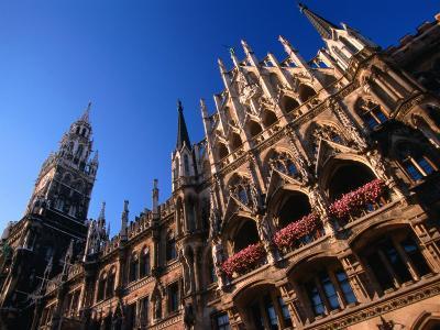City Hall, Munich, Bavaria, Germany-Thomas Winz-Photographic Print