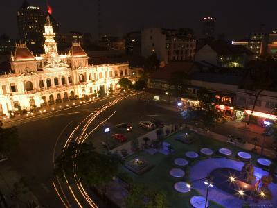 City Hall, Old Hotel De Ville, Ho Chi Minh City (Saigon), Vietnam, Southeast Asia-Christian Kober-Photographic Print