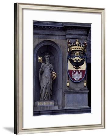 City Hall on Main Square--Framed Giclee Print