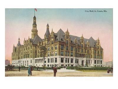 City Hall, St. Louis, Missouri--Art Print