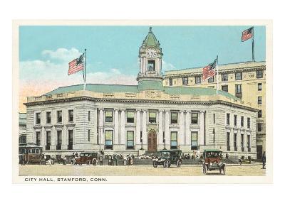 City Hall, Stamford, Connecticut--Art Print