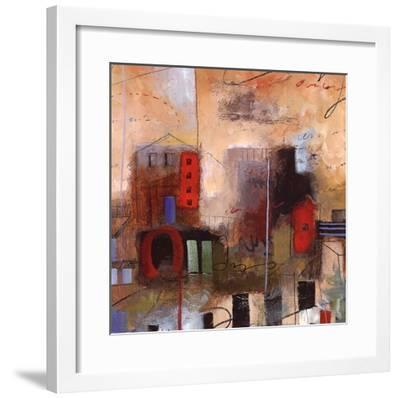 City Houses III-Elli Milan-Framed Art Print