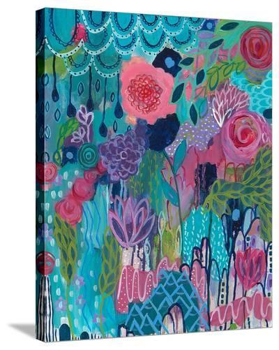 City in Bloom-Carrie Schmitt-Stretched Canvas Print