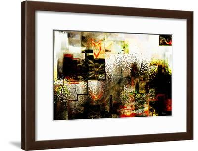 City IV-Jean-François Dupuis-Framed Art Print