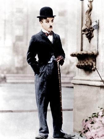 City Lights, Charlie Chaplin, 1931--Photo
