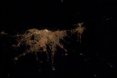 City Lights of Buenos Aires, Argentina--Photographic Print