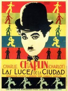 City Lights, Spanish Movie Poster, 1931