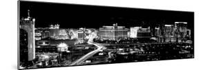 City Lit Up at Night, Las Vegas, Nevada, USA