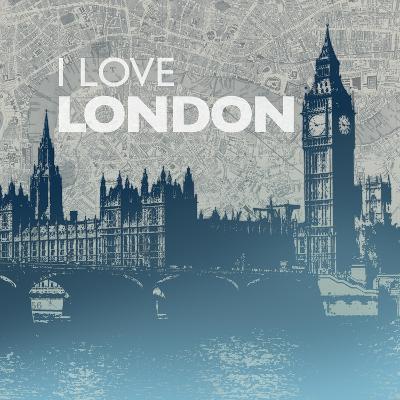 City Love I-Dan Meneely-Art Print
