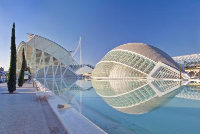 City of Arts and Sciences, Valencia, Spain-Rob Tilley-Photographic Print