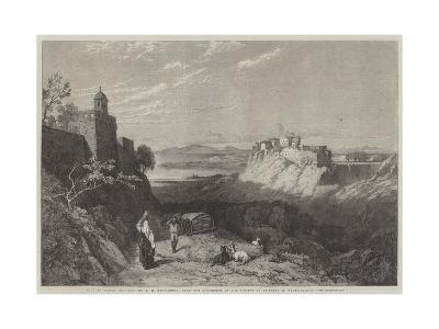 City of Chiusi, Etruria-Thomas Miles Richardson II-Giclee Print